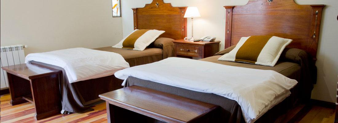 Sala de estar del Hotel Marquéz de Tojo en Jujuy, Argentina