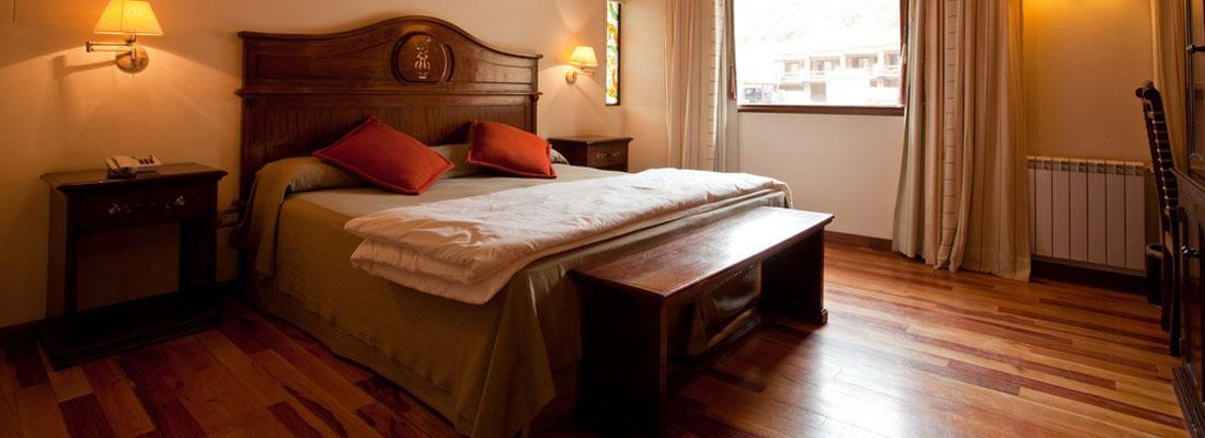 Habitación del Hotel Marqués de Tojo en Jujuy, Argentina